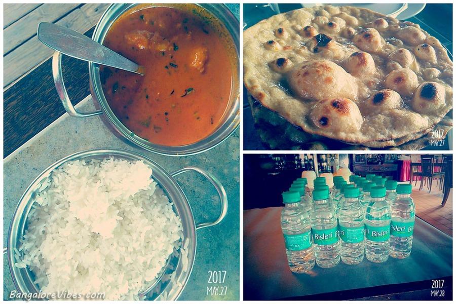 Fish curry rice & roti