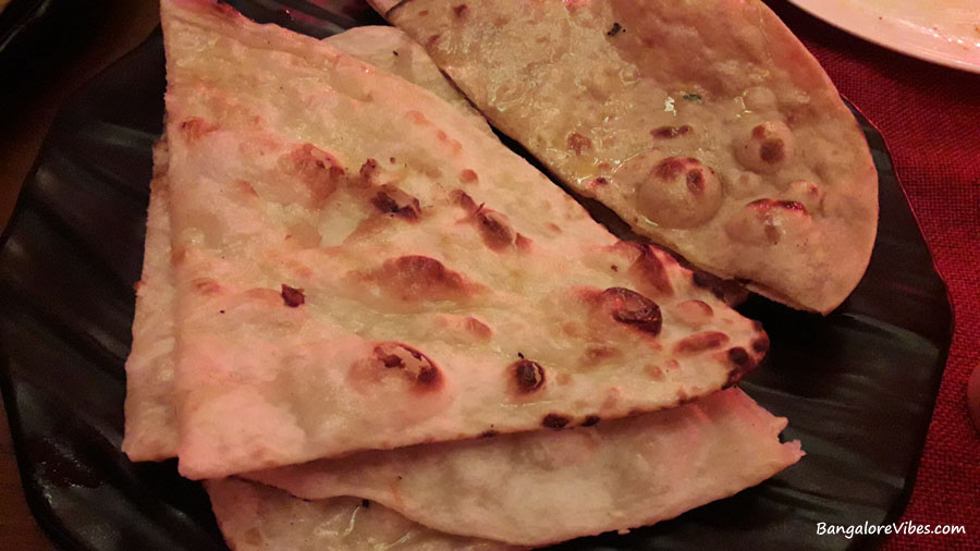 Butter Naan and Roti