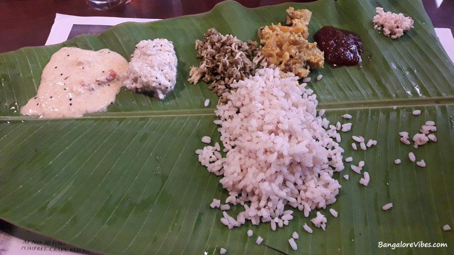 Kerala Sadya Fort Cochin