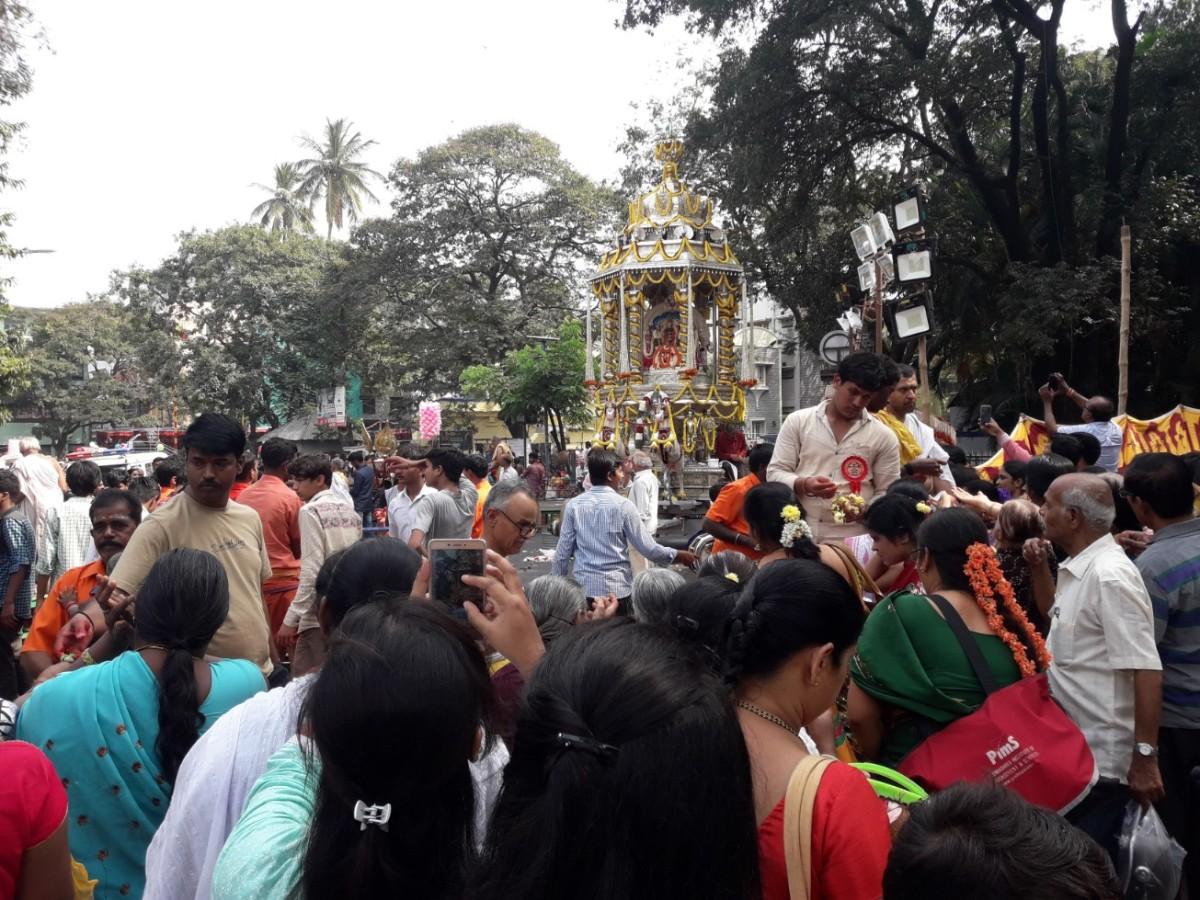 Silver Chariot Festival VV Puram Bengaluru