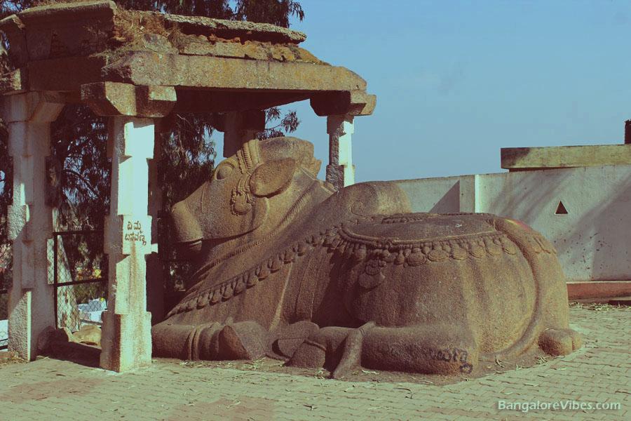 Nandhi at Shivagange